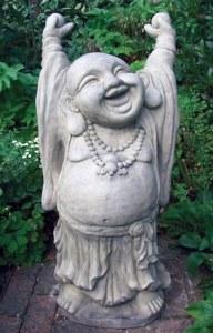 buddhistgardenstatue