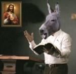 DonkeyPreacherWithPicture