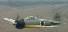 """Japanese """"Zero"""" WWII Fighter Craft"""